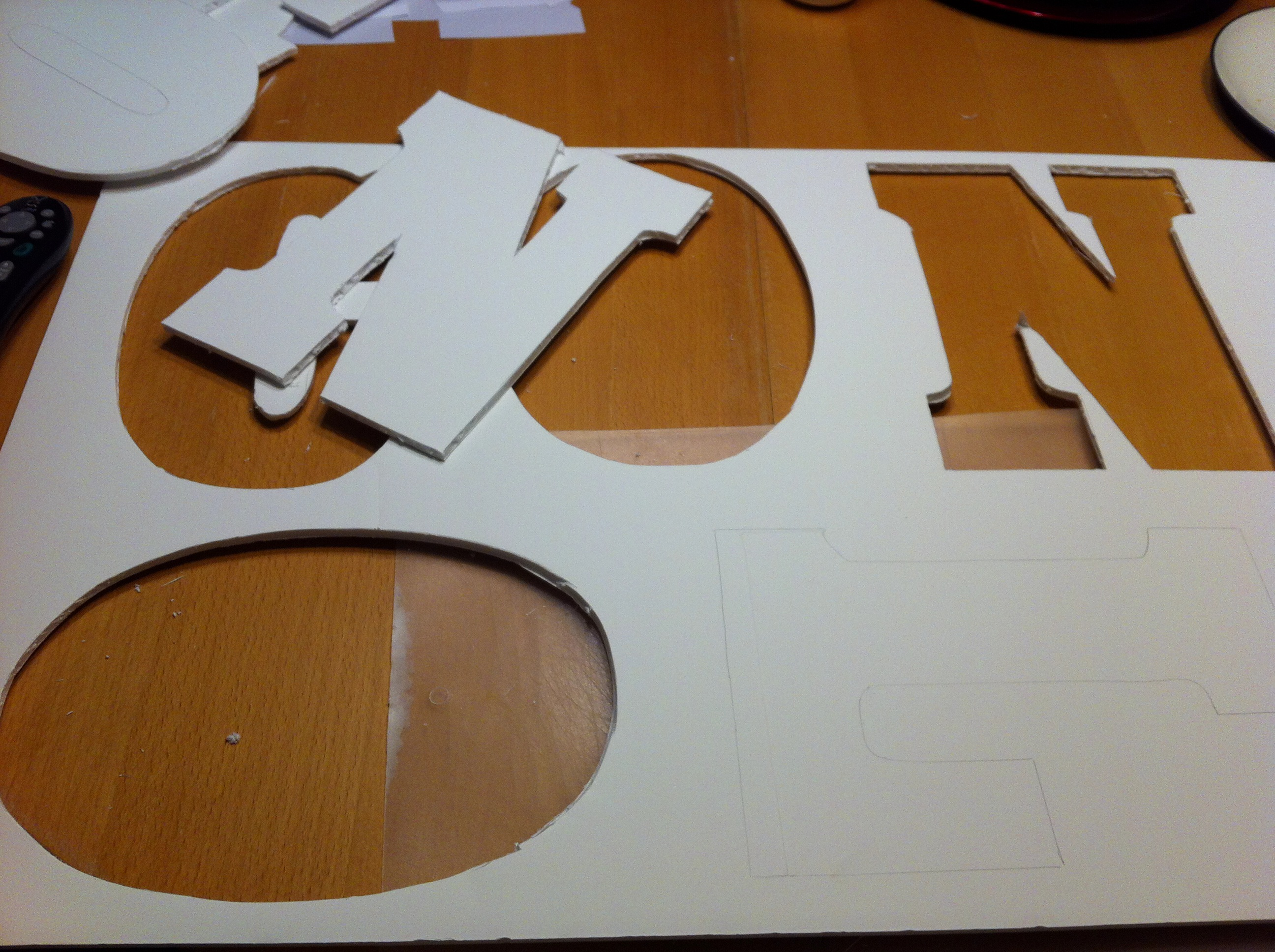 step 2 cutouts