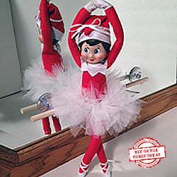 """Ballerina"" Elf. Templates and Step-by-Step Tutorials. See lots more themes on our site! 