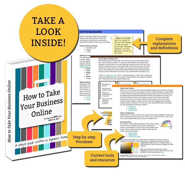 Take Your Business Online eBook System