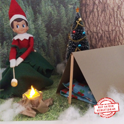 "Camping Trip"" Elf. Get templates and Step-by-Step Tutorial for creating this elf theme. Check our site often for new themes
