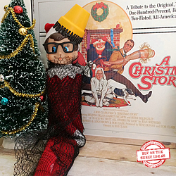 """Christmas Story"" Elf. Templates and Step-by-Step Tutorials. Tons of elf ideas on our site! 