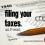 Filing Your Taxes. Yep, An F-Word