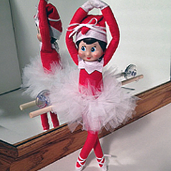 Ballerina Elf | Elf Ideas on organizedCHAOSonline