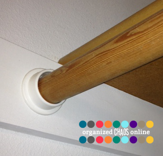 If Youu0027re Only Using One Bracket, Be Sure To Put Your Level On The Rod  Before You Mark The Ends. Closet Rod