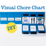 Visual Chore Chart with Printable