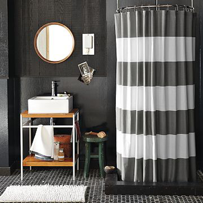 6 DIY Shower Curtain Ideas – organizedCHAOSonline