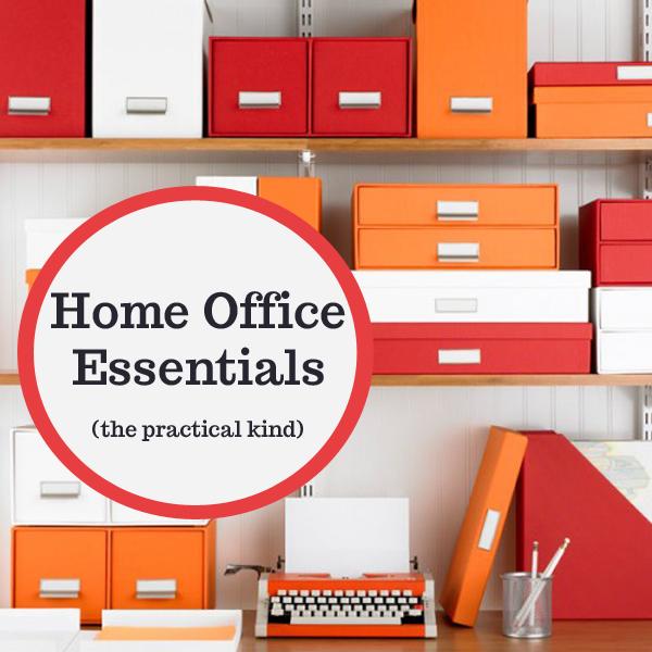 Important home office essentials organizedchaosonline