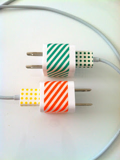 Personalized iPhone Charger Source: Delicious Spaces
