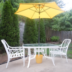Inexpensive Outdoor Makeover