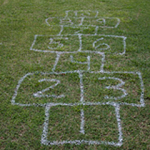 Hopscotch On the Grass
