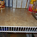 Self-Adhesive Floor Tiles in Pantry