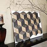 "DIY ""Tubmling Blocks"" Wall Art {Organized CHAOS Online}"
