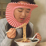 Protect Your Hair While Eating Noodles