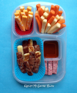 Pickup Sticks school lunch - organizedCHAOSonline