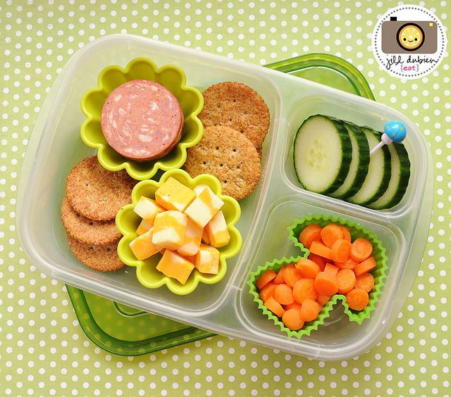 diy lunchable school lunch organizedCHAOSonline