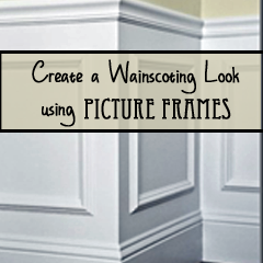 create wainscoting with frames organizedchaosonline