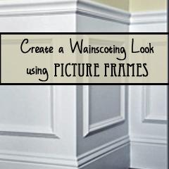create wainscoting with frames organizedchaosonline