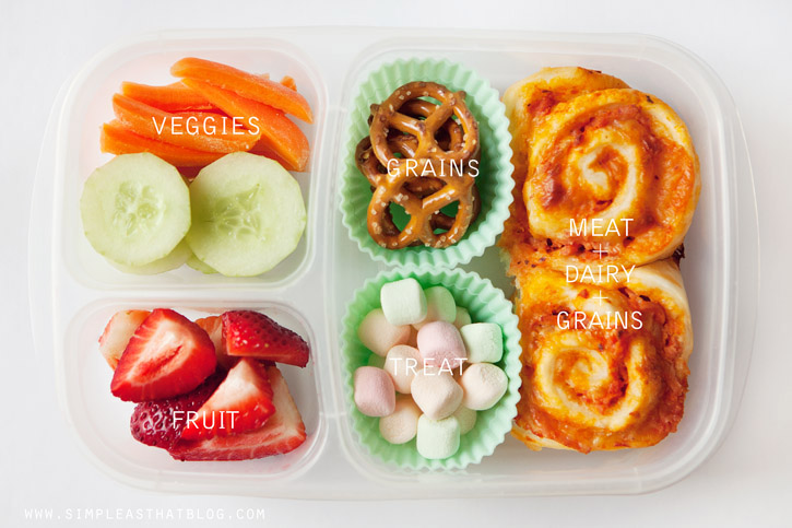 pizza buns school lunch organizedCHAOSonline