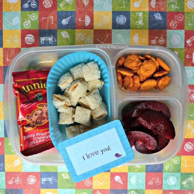 sandwich squares school lunch organizedCHAOSonline
