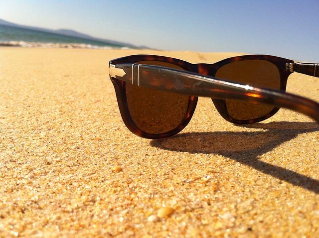 sunglasses in sun