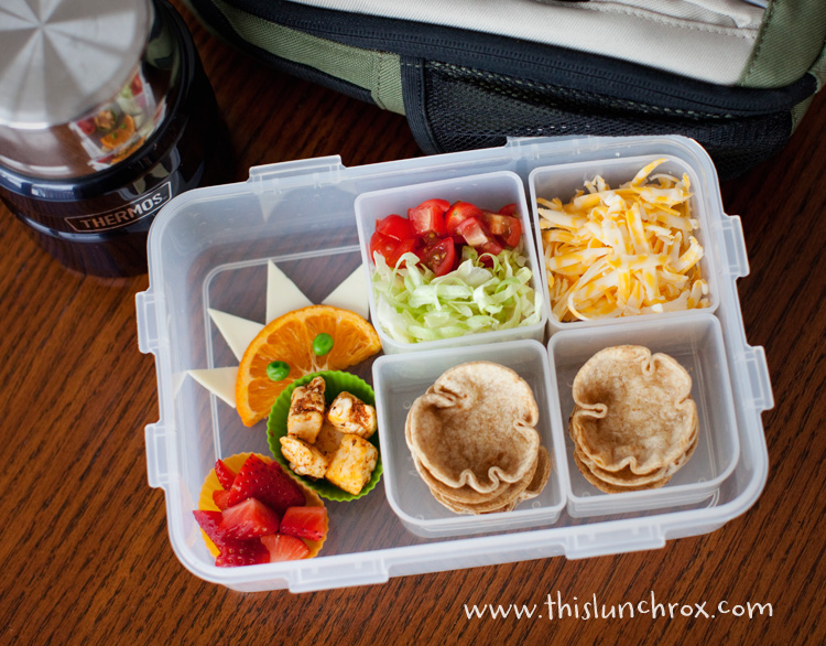 taco cups school lunch organizedCHAOSonline