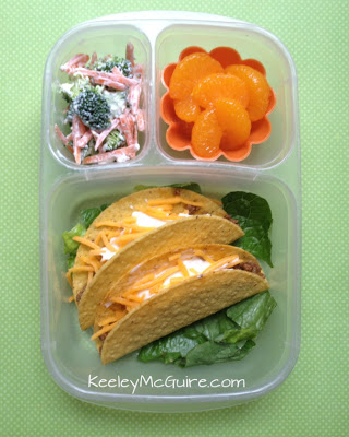 taco school lunch - organizedCHAOSonline