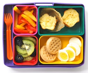 waffles eggs school lunch organizedCHAOSonline