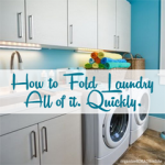 How to Fold Laundry Quickly
