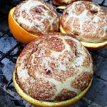 TIP OF THE DAY: Make cinnamon rolls in orange peels over campfire | organized CHAOS online