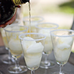 Instant Margaritas using Lime Sorbet