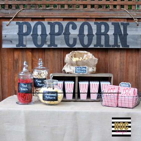 Outdoor Movie Night HOCd | organized chaos online