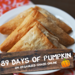 Day 8: Pumpkin Nutella Cheesecake Danish