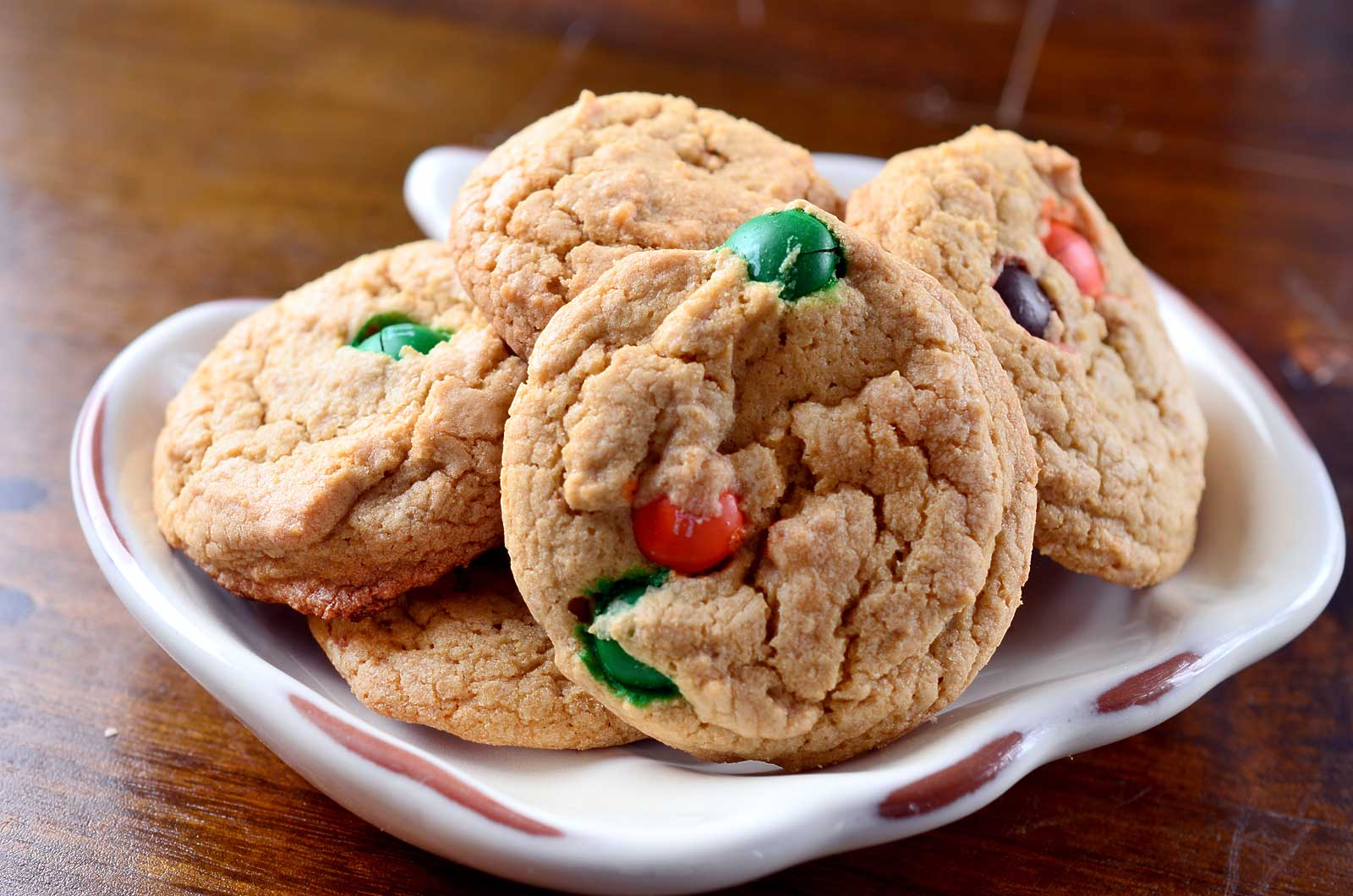 Biscoff and Pumpkin Spice M&M Cookies | 89 Days of Pumpkin at ...