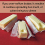 Don't over-soften your butter when baking