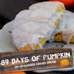 Day 24: Copycat Starbucks Pumpkin Scones