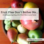 Guest Post: Fruit Flies Don't Bother Me