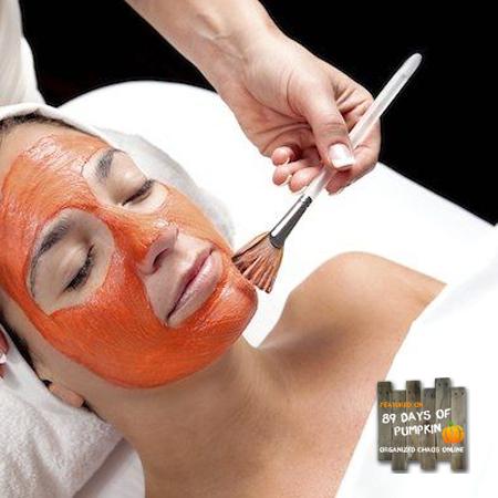 Day 10: Pumpkin Face Mask
