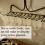 Use a Rake to Display Wine Glasses
