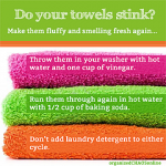 Make Your Smelly Towels Smell Fresh Again