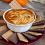 Day 35: 5-Minute Pumpkin Pie Dip with Caramel Swirl