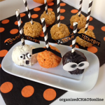 Pumpkin Rice Krispie Halloween Pops | 89 Days of Pumpkin on organizedCHAOSonline