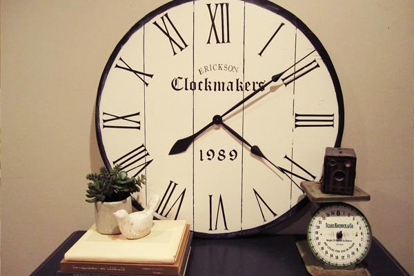 entryway clock
