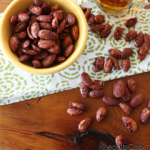 pumpkin pie roasted almonds by knead to cook