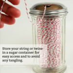 Bakers Twine and String Storage