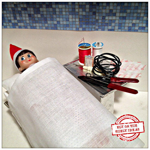 How To Make Your Elf on the Shelf Grab and Flex - Step-by-Step Tutorial | organizedCHAOSonline