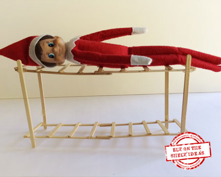 Elf on the Shelf Bunk Bed