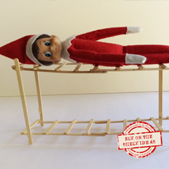 Elf on the Shelf Bunk Beds