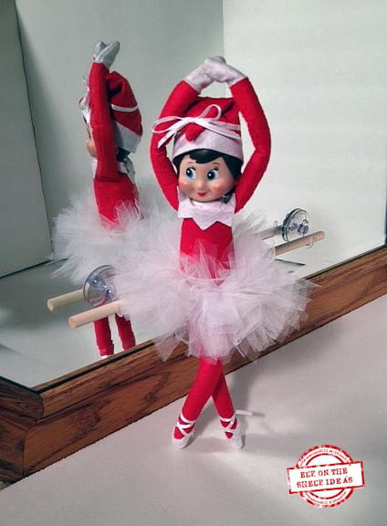 Ballerina Elf | Elf Ideas on organizedCHAOSonline