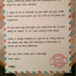Letter From Elf to Naughty Kid  [Free Printable]
