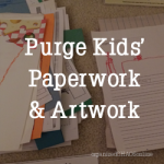 Purge and Organize Kids Paperwork in 6 Steps